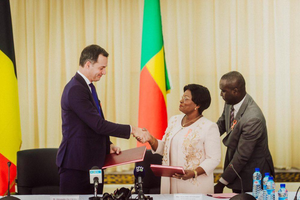 Alexander De Croo ondertekent nieuw samenwerkingsprogramma met Benin