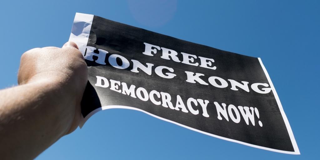Resolutie: Veroordeling van China & maatregelen ter verdediging v/d democratie in Hongkong